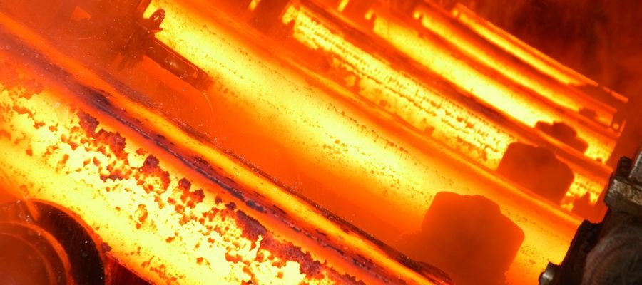 Hardening of steel at high temperature